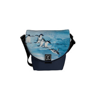 Dance of the Penguins Courier Bags