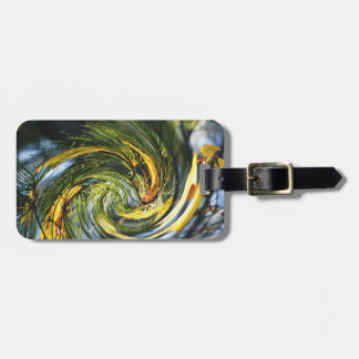 Dance of the Pine Needles & Autumn Leaves Bag Tag