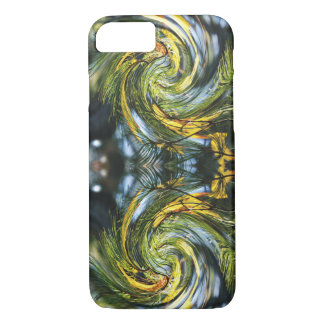 Dance of the Pine Needles & Autumn Leaves iPhone 8/7 Case