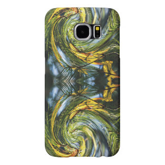 Dance of the Pine Needles & Autumn Leaves Samsung Galaxy S6 Case