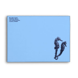 Dance Of The Seahorses (Blue) Envelope