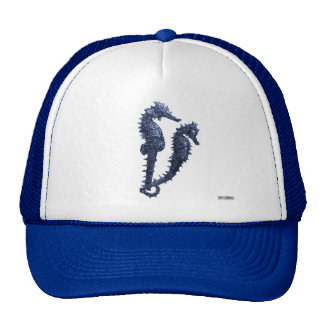Dance Of The Seahorses (Blue) Trucker Hat