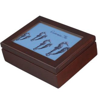 Dance Of The Seahorses (Blue) Memory Box