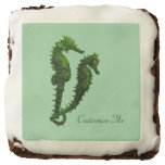 Dance Of The Seahorses (Green) Brownie