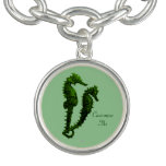 Dance Of The Seahorses (Green) Charm Bracelets