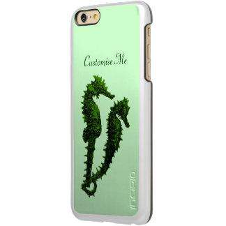 Dance Of The Seahorses (Green) Incipio Feather® Shine iPhone 6 Plus Case