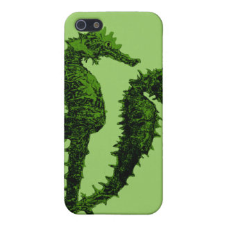 Dance Of The Seahorses (Green) iPhone SE/5/5s Cover