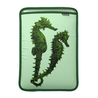 Dance Of The Seahorses (Green) MacBook Sleeve
