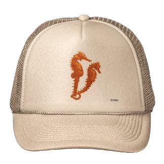 Dance Of The Seahorses (Orange) Trucker Hat