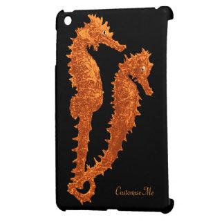 Dance Of The Seahorses (Orange) Cover For The iPad Mini