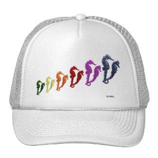 Dance Of The Seahorses Pop Art 1 Trucker Hat