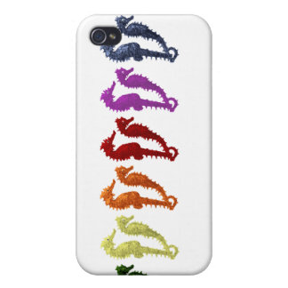 Dance Of The Seahorses Pop Art 2 iPhone 4/4S Cases