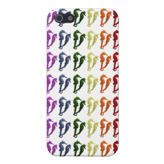 Dance Of The Seahorses Pop Art 2 (patterened) iPhone SE/5/5s Case