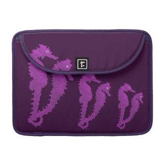 Dance Of The Seahorses (Purple) MacBook Pro Sleeve