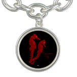Dance Of The Seahorses (Red) Bracelets