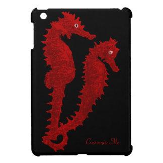 Dance Of The Seahorses (Red) iPad Mini Case
