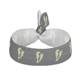 Dance Of The Seahorses (Yellow) Hair Tie