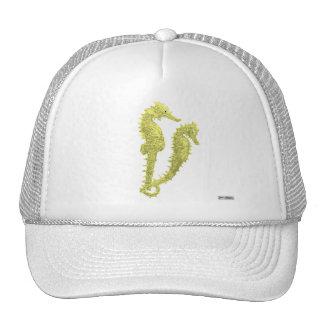 Dance Of The Seahorses (Yellow) Trucker Hat
