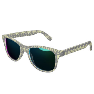 Dance Of The Seahorses (Yellow) Sunglasses