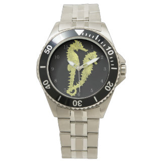 Dance Of The Seahorses (Yellow) Wristwatch