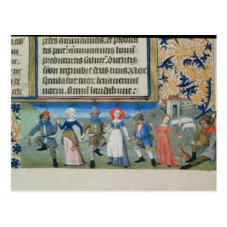 Dance of the shepherds post cards
