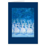 Dance of the Snowflakes Greeting Card w/ Quote