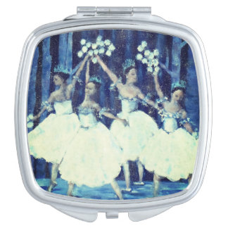 Dance of the snowflakes I Nutcracker Ballet Mirror For Makeup