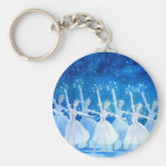 Dance of the Snowflakes Key Chain