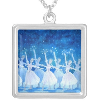 Dance of the Snowflakes Pendant Necklace