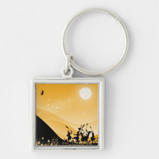 Dance of the sorci�res - keychain