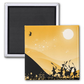 Dance of the sorci�res - refrigerator magnets