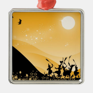 Dance of the sorci�res - metal ornament