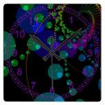 Dance of the Spheres II – Abstract Cosmic Indigo Clock