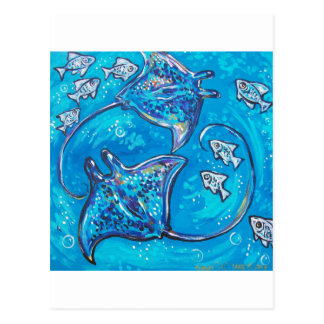dance of the stingray post cards