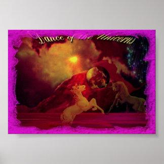 Dance Of The Unicorns Poster