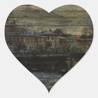 Dance of the Vampires Heart Sticker