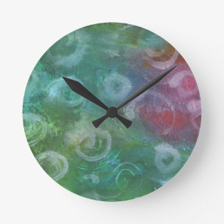 Dance of the Wind Swept Faeries Wall Clock