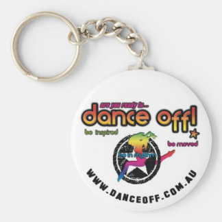 Dance Off! Troupe Key ring Basic Round Button Keychain