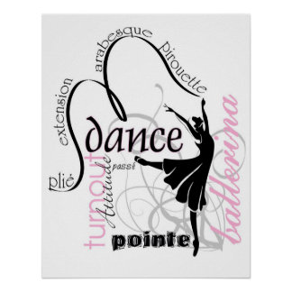 Dance On Pointe Poster