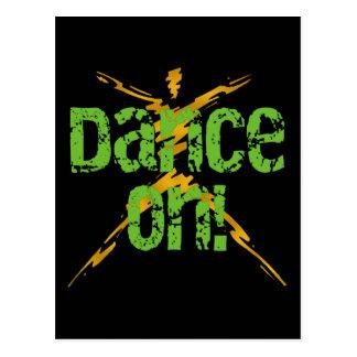 Dance On Postcard