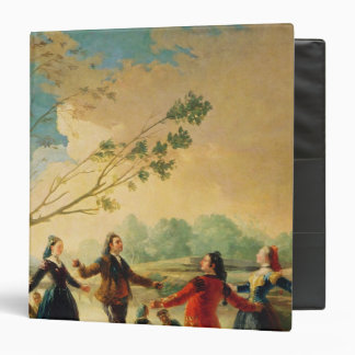 Dance on the Banks of the River Manzanares, 1777 Binder