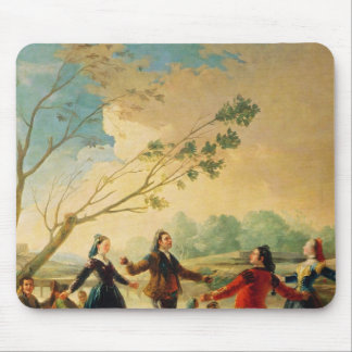 Dance on the Banks of the River Manzanares, 1777 Mouse Pad