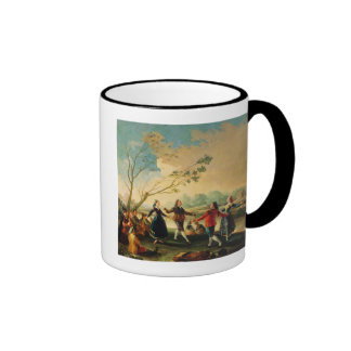 Dance on the Banks of the River Manzanares, 1777 Ringer Coffee Mug