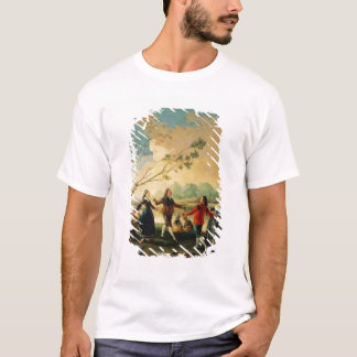 Dance on the Banks of the River Manzanares, 1777 T-Shirt