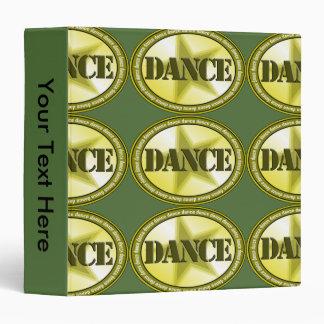 Dance Oval - Green Binder