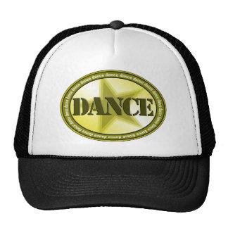 Dance Oval - Green Trucker Hat