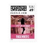 Dance Party Bat Mitzvah Stamp, Small Stamp
