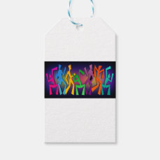 Dance Party Gift Tags