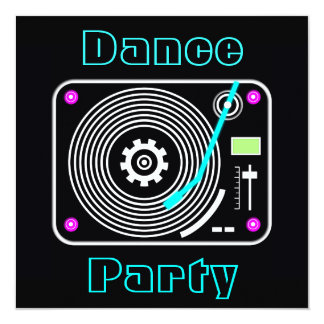 Dance Party Invitations & Announcements | Zazzle