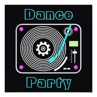 Dance Party Invitation
